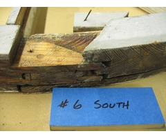 Complex historic sash joinery